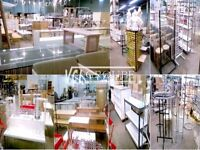 STORE FIXTURES HARDWARE ACCESSORIES ~ USED - NEW ~ 514-961-5633