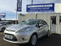 2010 60 FORD FIESTA TITANIUM 1.4 - 12 MONTHS MOT - SERVICED - WARRANTY - 5 DOOR