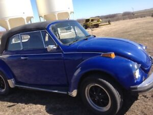 1973 Volkswagen Beetle-Classic Convertible
