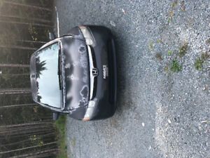 2008 Honda Civic with 4 Studded Winter Tires