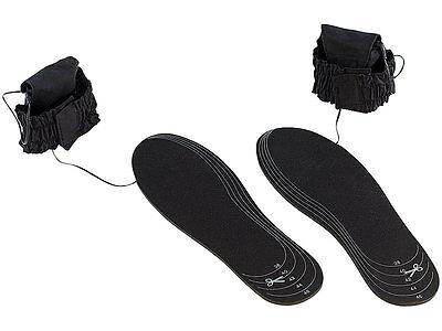 2 x Thermosohle Heizsohle Gr. 38-46 gegen kalte Füße Schuhsohlen Einlagen Schuhe