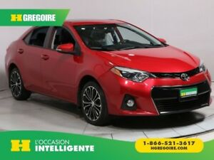 2015 Toyota Corolla S A/C TOIT GR ELECT MAGS BLUETOOTH CAMERA RE