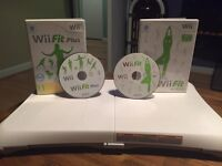 Nintendo Wii games and board