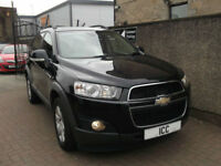 11 61 CHEVROLET CAPTIVA 2.2 VCDi LT DIESEL 5DR 1 LADY OWNER 7 SEATER LEATHER