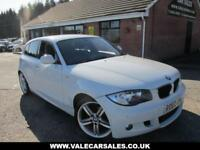 2010 60 BMW 1 SERIES 118D M SPORT 5DR AUTO £3780 OF EXTRAS DIESEL