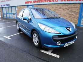 Peugeot 207 1.4 16v 90 Sport NEW MOT LOW MILES