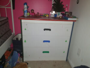 Three  drawers chest it will look good in ur room