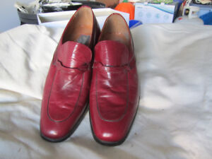New Padrino Men leather dress shoes size 8