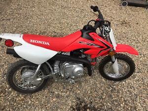 New CRF50 Honda mini bike