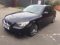 BMW 535 auto 2006MY d M Sport. RARE TERRACOTTA LEATHER TRIM. ALL THE TOYS!