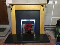 COMPLETE FIREPLACE EXCELLENT CONDITION