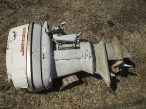 johnson outboard 2 cyl.