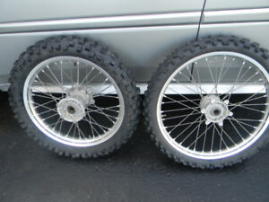 YAMAHA YZ 125/250 RIMS AND TIRES ONLY $400