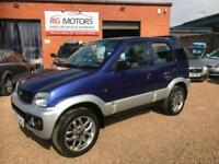 2003(53) Daihatsu Terios 1.3 Sport, 4x4, Blue/Silver, **ANY PX WELCOME**