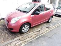 Suzuki Alto Sz3 5dr rose pink 60mpg £30 pa tax PETROL MANUAL 2009/09