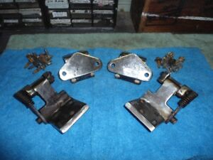 1966 66 Ford Mustang Convertible Door Hinges with Hardware