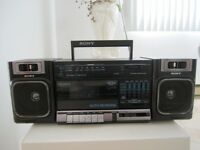 Radio Sony am/fm Cassette