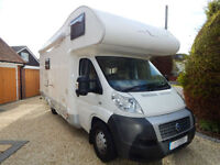 Sea Sharky, 2009 Fiat 2.3, Manual gearbox, 6 Berth, Garage Model. 6 Seatbelts