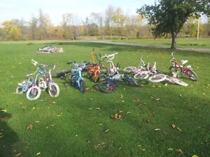 USED BIKES FOR GIRLS & BOYS FOR AGES 2 TO 10 YEARS OLD