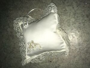 Coussin alliance mariage