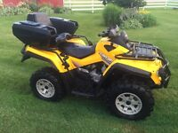 2008 outlander 650 with new engine
