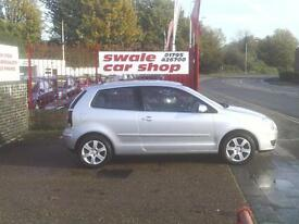 2009 59 Reg Volkswagen Polo 1.2 60ps Match 3 Door Manual Silver 1.2 ENGINE NEW M