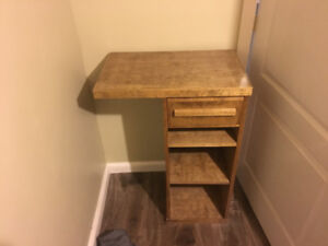 For Sale: Side table with a bank of Drawers