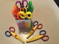 11 Creative scissors Set for Art & Craft