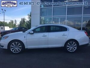 2016 Lincoln MKS EcoBoost  - Leather Seats -  Cooled Seats -  Bl