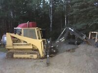 DIESEL TRACK SKID STEER FOR SALE