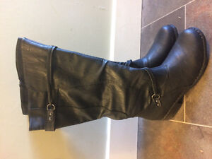 Brinley wide calf boots for sale. NEW