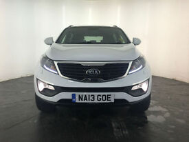 2013 KIA SPORTAGE KX-3 SAT NAV CRDI ESTATE DIESEL 1 OWNER FINANCE PX WELCOME