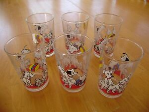101 DALMATIONS JUICE GLASSES Windsor Region Ontario image 1