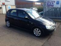 Vauxhall/Opel Corsa 1.4i 16v ( a/c ) 2001MY SRi IN BLACK
