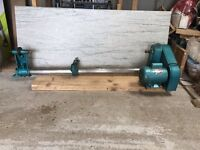 "Clarke 37"" wood working Lathe"