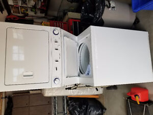 Frigidaire 2 in1 drayer and washer model CFLE2022 MW2