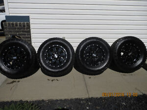Selling > NITTO A/T Tires and Wheels Fit 3/4 Ton Dodge,GMC, H2