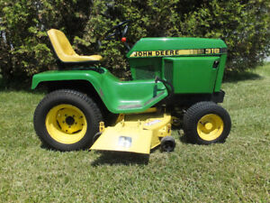 JOHN DEERE 316 Lawn and Garden Tractor TRUE SURVIVER