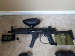 Paintball guns and gear for sale