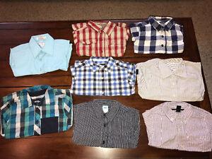 Boys long sleeve shirts 2T