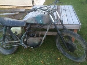 Parting Out 1973 Kawasaki F11 250