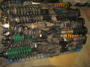 HONDA ACCORD HONDA PRELUDE FRONT SHOCKS COILOVERS SUSPENSION JDM