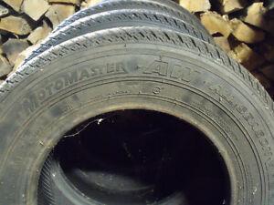4 x P155/80R13 Motomaster AW All Season Tires Kawartha Lakes Peterborough Area image 2