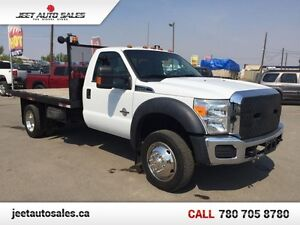 2012 Ford F-550 XLT Flat Deck 4X4 Mint