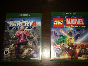 Far Cry 4 and Lego Marvel Superheroes for Xbox One