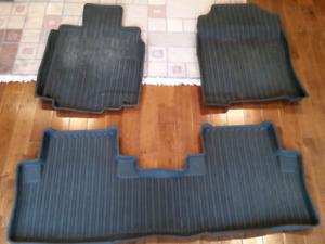 Honda CRV Rubber Plastic all season winter snow mats