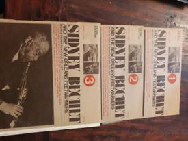 Sidney bechet vinyls 3 volumes