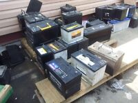 CAR BATTERYS WANTED FOR CASH / NOT WORKING OR WORKING