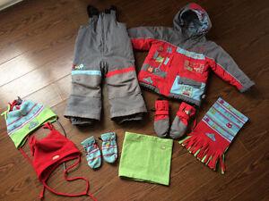 Habit de neige Souris Mini 2 ans avec accessoires