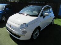 2013 Fiat 500 1.2 Lounge Dualogic 3dr (start/stop)